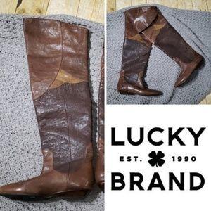 "Lucky Brand OTK ""Gwen"" boots     S12"